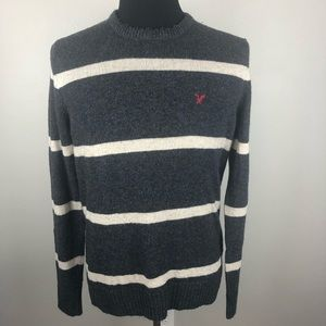 American Eagle Athletic Fit Gray Sweater Men's M